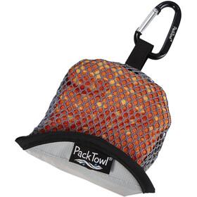 PackTowl Nano Handtuch orange pixel